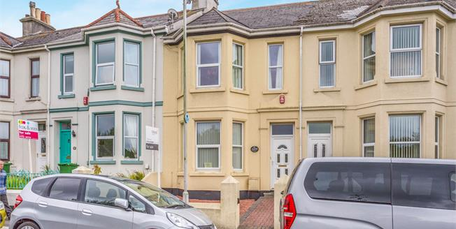 Offers Over £160,000, 3 Bedroom Terraced House For Sale in Plymouth, PL5