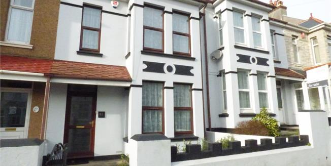 Guide Price £160,000, 3 Bedroom Terraced House For Sale in Plymouth, PL5