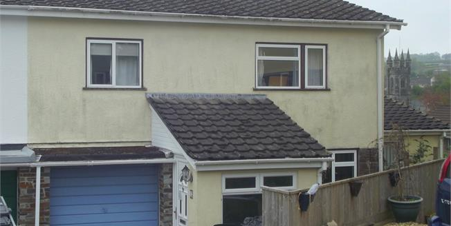 Guide Price £200,000, 4 Bedroom End of Terrace House For Sale in Buckland Monachorum, PL20