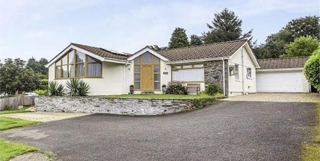 Offers in the region of £600,000, 5 Bedroom Detached Bungalow For Sale in Higher Downgate, PL17