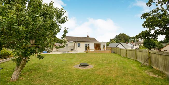 Guide Price £345,000, 2 Bedroom Detached Bungalow For Sale in Milton Damerel, EX22