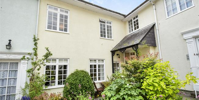 Guide Price £240,000, 2 Bedroom Terraced House For Sale in Totnes, TQ9
