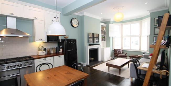 Offers in excess of £750,000, 2 Bedroom Flat For Sale in Sangora Road, SW11