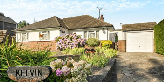 Guide Price £625,000, 4 Bedroom Detached Bungalow For Sale in Tatsfield, TN16