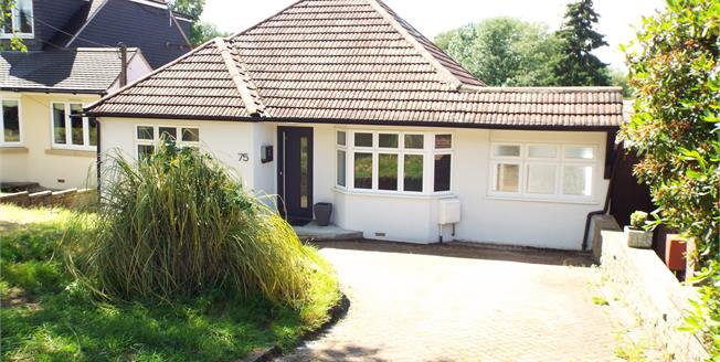Guide Price £550,000, 4 Bedroom Detached Bungalow For Sale in Tatsfield, TN16
