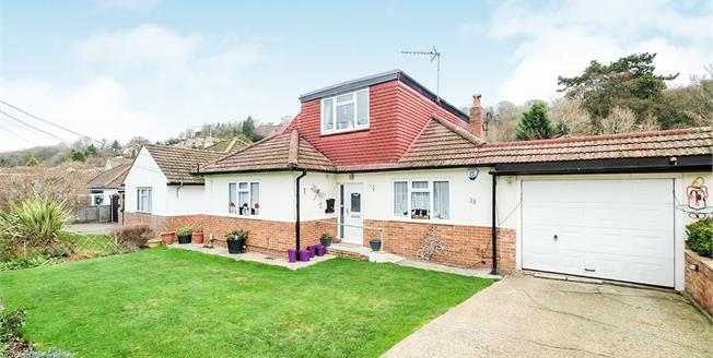 Asking Price £530,000, 4 Bedroom Detached Bungalow For Sale in Biggin Hill, TN16