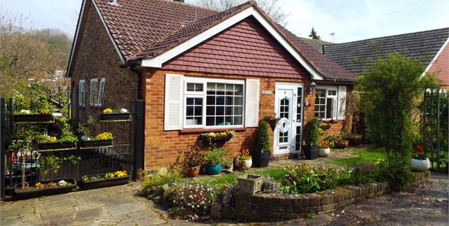 Guide Price £425,000, 2 Bedroom Detached Bungalow For Sale in Biggin Hill, TN16