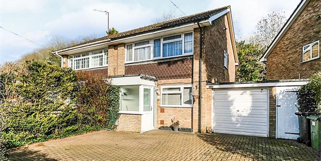 Guide Price £365,000, 3 Bedroom Semi Detached House For Sale in Biggin Hill, TN16