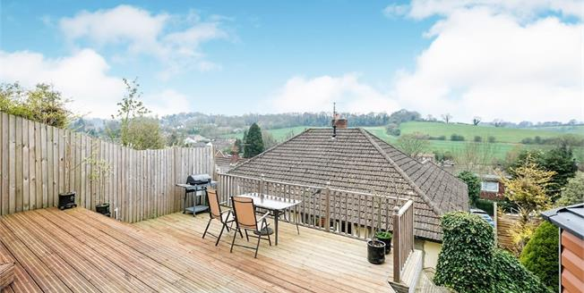 Guide Price £375,000, 3 Bedroom Semi Detached Bungalow For Sale in Biggin Hill, TN16
