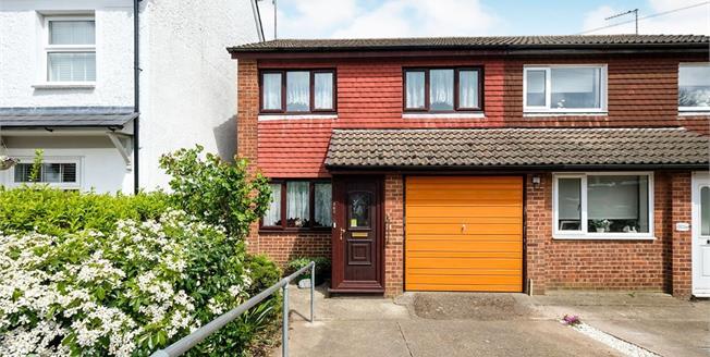 Guide Price £400,000, 3 Bedroom Semi Detached House For Sale in Biggin Hill, TN16