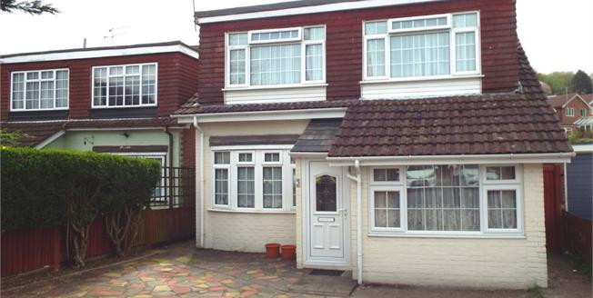 Guide Price £425,000, 4 Bedroom Detached House For Sale in Biggin Hill, TN16
