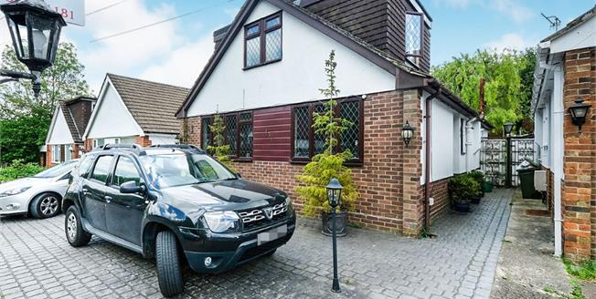 Guide Price £400,000, 3 Bedroom Detached Bungalow For Sale in Biggin Hill, TN16