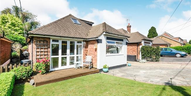 Asking Price £475,000, 3 Bedroom Detached Bungalow For Sale in Biggin Hill, TN16
