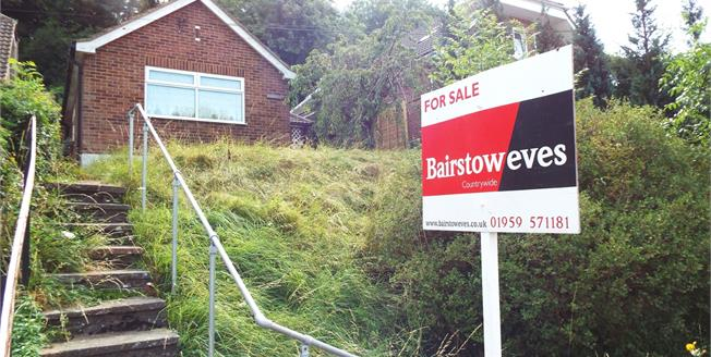Guide Price £350,000, 2 Bedroom Detached Bungalow For Sale in Biggin Hill, TN16