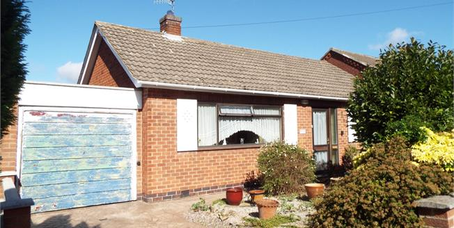 Asking Price £170,000, 2 Bedroom Detached Bungalow For Sale in Arnold, NG5