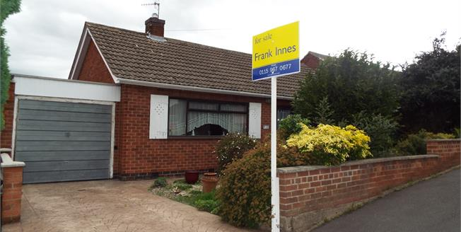 Asking Price £165,000, 2 Bedroom Detached Bungalow For Sale in Arnold, NG5