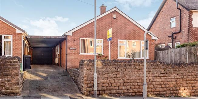 Offers Over £199,950, 2 Bedroom Detached Bungalow For Sale in Arnold, NG5