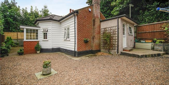 Asking Price £425,000, 2 Bedroom Detached Bungalow For Sale in Caterham, CR3