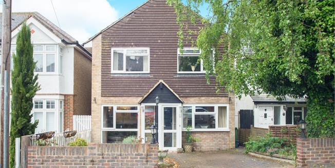 Offers Over £575,000, 4 Bedroom Detached House For Sale in Epsom, KT17