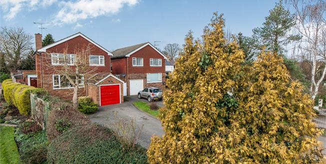 Guide Price £599,950, 4 Bedroom Detached House For Sale in Fetcham, KT22