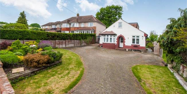 Guide Price £535,000, 3 Bedroom Detached Bungalow For Sale in Fetcham, KT22