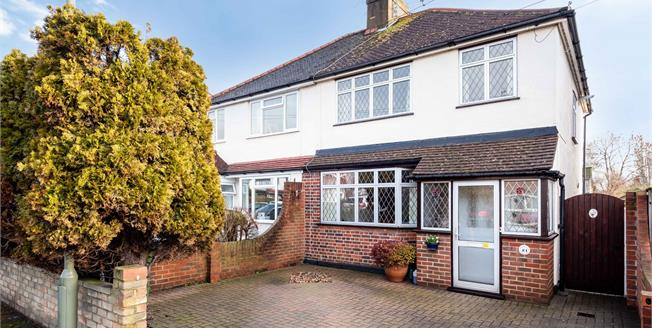 Offers in the region of £450,000, 3 Bedroom Semi Detached House For Sale in Leatherhead, KT22