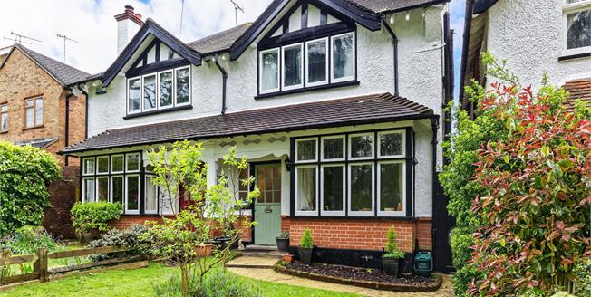 Guide Price £575,000, 4 Bedroom Semi Detached House For Sale in Leatherhead, KT22