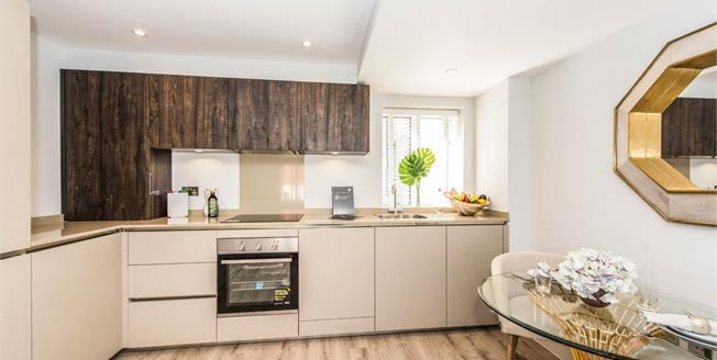 Asking Price £440,000, 2 Bedroom Flat For Sale in Guildford, GU1
