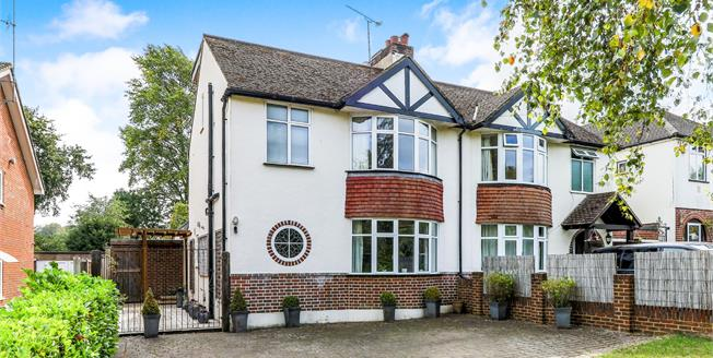 Guide Price £700,000, 4 Bedroom Semi Detached House For Sale in Bookham, KT23