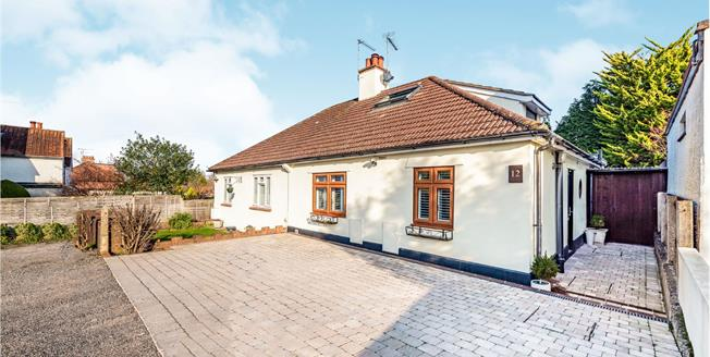 Guide Price £500,000, 3 Bedroom Semi Detached Bungalow For Sale in Leatherhead, KT22