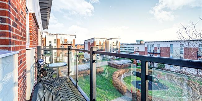 Guide Price £295,000, 2 Bedroom Flat For Sale in Leatherhead, KT22