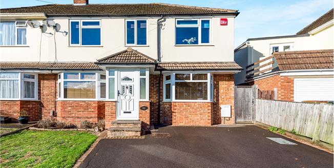 £575,000, 4 Bedroom Semi Detached House For Sale in Fetcham, KT22