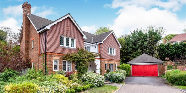 Asking Price £950,000, 5 Bedroom Detached House For Sale in Leatherhead, KT22