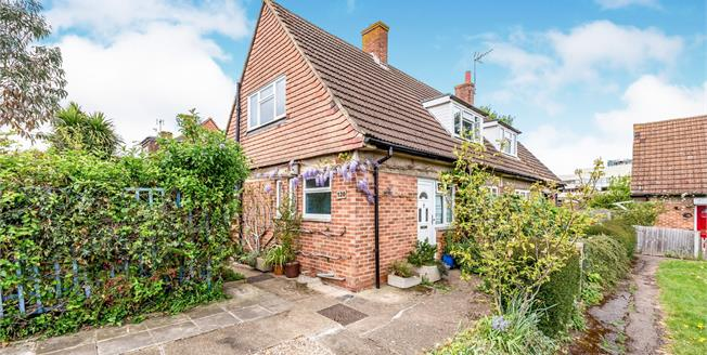 Guide Price £375,000, 2 Bedroom Semi Detached House For Sale in Leatherhead, KT22