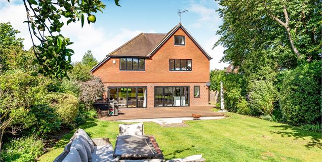 Asking Price £1,325,000, 6 Bedroom Detached House For Sale in Leatherhead, KT22