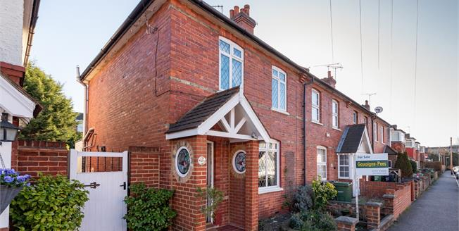 Guide Price £400,000, 2 Bedroom End of Terrace House For Sale in Leatherhead, KT22