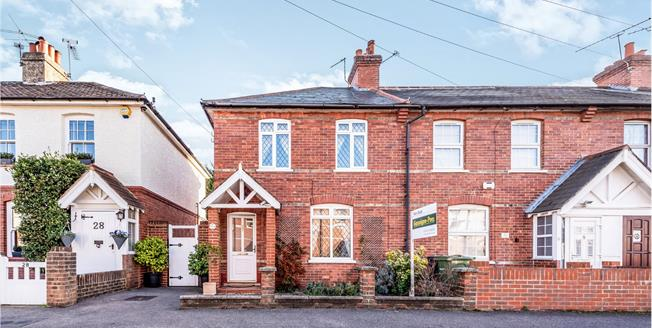 Guide Price £385,000, 2 Bedroom End of Terrace House For Sale in Leatherhead, KT22