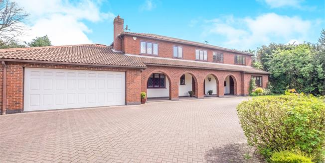 Offers Over £875,000, 4 Bedroom Detached House For Sale in Bramcote, NG9