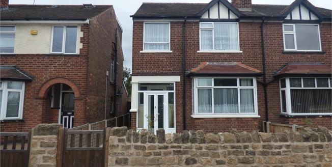 Guide Price £170,000, 3 Bedroom Semi Detached House For Sale in Beeston, NG9