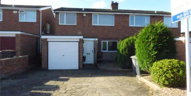 Asking Price £190,000, 3 Bedroom Semi Detached House For Sale in Bramcote, NG9
