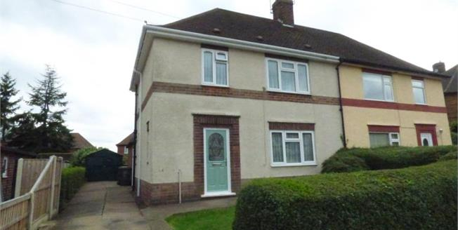Asking Price £160,000, 3 Bedroom Semi Detached House For Sale in Beeston, NG9