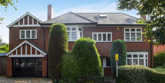 Guide Price £375,000, 4 Bedroom Detached House For Sale in Ilkeston, DE7