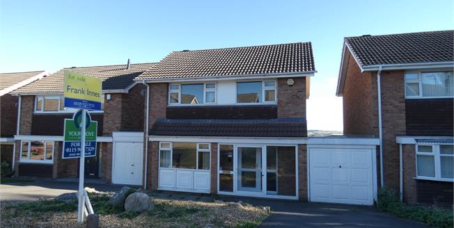 Offers Over £210,000, 3 Bedroom Detached House For Sale in Beeston, NG9