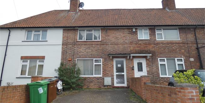 Asking Price £120,000, 2 Bedroom Terraced House For Sale in Beeston, NG9