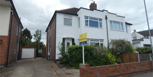 Guide Price £300,000, 4 Bedroom Semi Detached House For Sale in Beeston, NG9