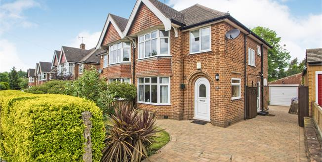 Guide Price £250,000, 3 Bedroom Semi Detached House For Sale in Bramcote, NG9