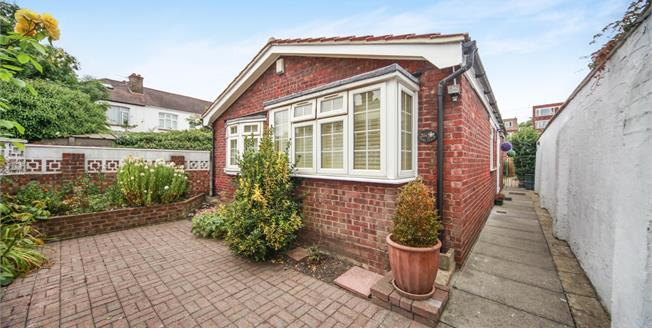 Offers in excess of £375,000, 2 Bedroom Detached Bungalow For Sale in Thornton Heath, CR7
