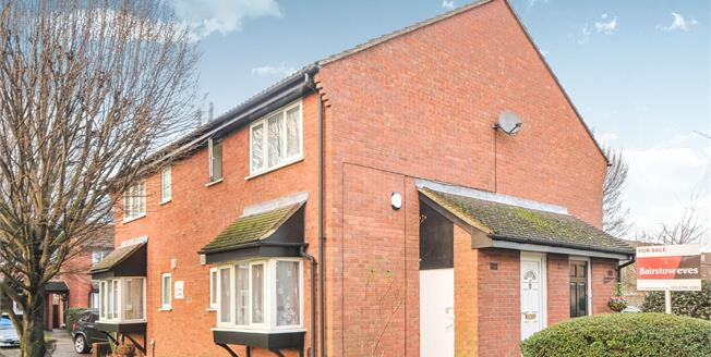 Guide Price £240,000, 1 Bedroom Terraced House For Sale in Mitcham, CR4