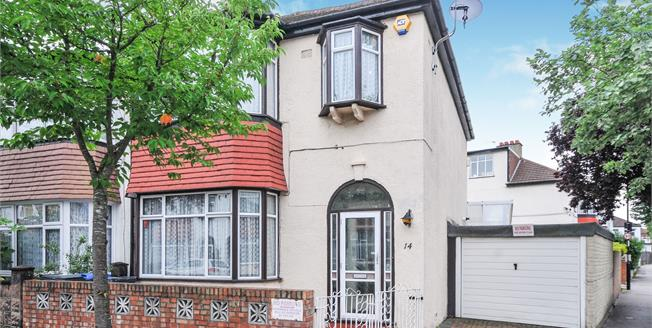 Offers in excess of £500,000, 3 Bedroom End of Terrace House For Sale in Thornton Heath, CR7