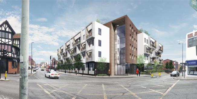 £302,950, 1 Bedroom Flat For Sale in South End, CR0